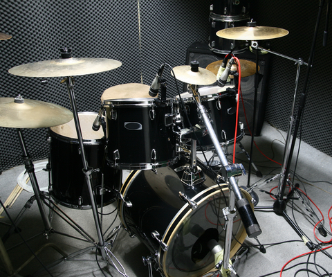 Recording Drums In Your Home Studio
