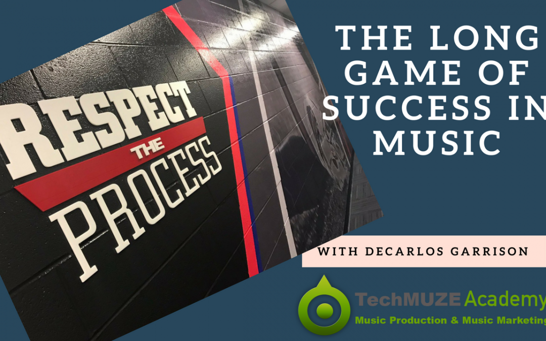 TechMuze Ep 90 – Respect The Process! Navigating the Music Industry With DeCarlos Garrison