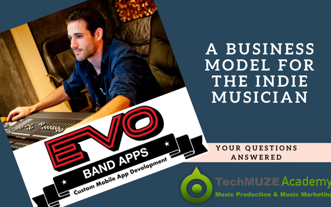TechMuze Ep 93 – A Business Model For The Indie Musician With Brian Poillucci